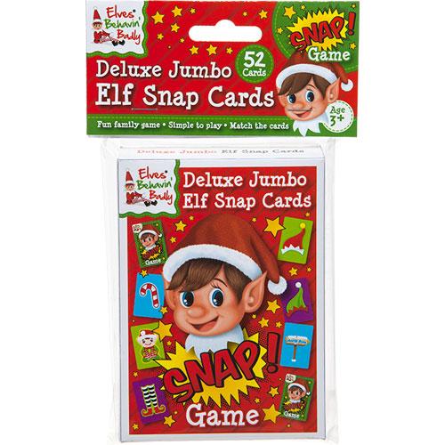 Elf Snap Cards Game