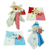 First Steps Christmas Plush Toy Comforter