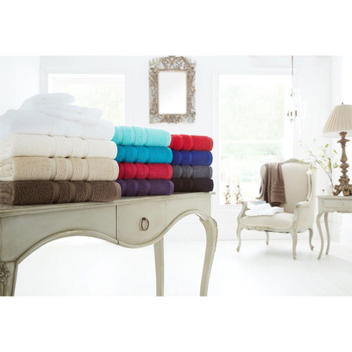 Supreme Cotton Bath Towels Red