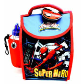 Ultimate Spiderman Deluxe Lunch Bag With Bottle