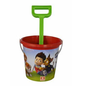 Paw Patrol Beach Bucket With Spade