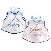 Baby Bibs Transparent EVA Wipe