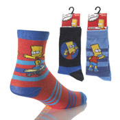 Boys Simpsons Socks