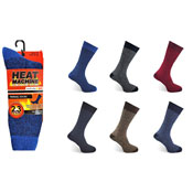 Mens Heat Machine Thermal Socks Twisted Yarn