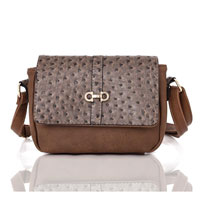 Brielle Crossbody Bag Khaki