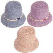Ladies Crushable Straw Bush Hat