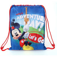 Official Mickey Mouse Lets Go Swim / Sports Bag