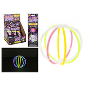Neon Glow In The Dark Lantern Kit Assorted