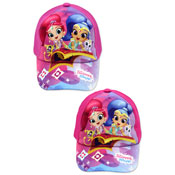 Childrens Shimmer & Shine Baseball Cap