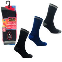 Mens Heat Machine 1.6 Tog Thermal Socks Assorted