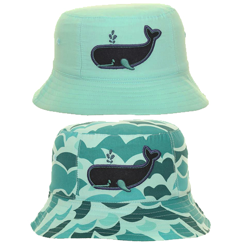Baby/Toddler Boys Whale Cotton Bucket Hat