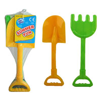 Spade and Rake Beach Set