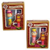 Wooden Princess Knitting Doll Set
