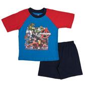 Boys Avengers Pyjamas Shortie