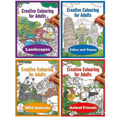 Creative Colouring for Adults