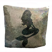 Reversible Rainbow Mermaid Sequin Filled Cushion