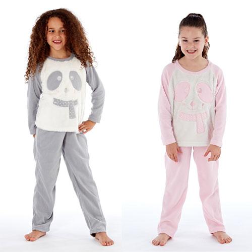 Older Girls Cici Bear With Scarf Pyjamas
