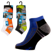 Mens Low Cut Cushion Trainer Socks