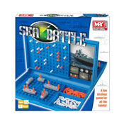 Sea Battle Strategy Game In Colour Box