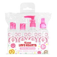 Official Swizzels Travel Bottles 4 Pack