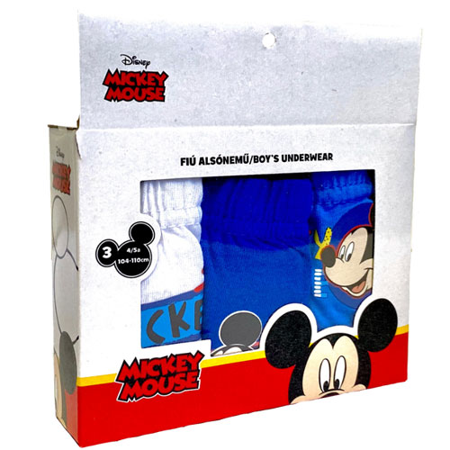 Official Boys Mickey Mouse Character Briefs