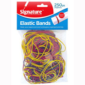 Elastic Bands Assorted Colours