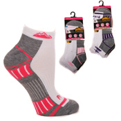 Ladies ProHike Trainer Socks Light Mix