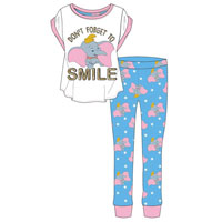 Ladies Official Dumbo Smile Pyjamas