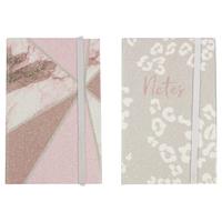 A6 Glitter Film Notebook