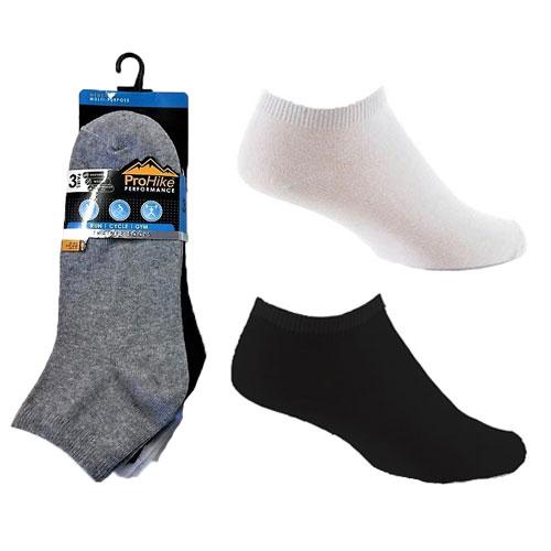 Mens ProHike Trainer Socks Plain