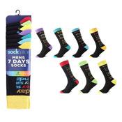 Socksation Mens Luxury Suit Socks 7 Days