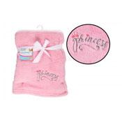 Super Soft Pink Fleece Baby Blanket
