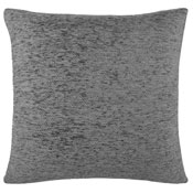 Cushion Cover Chenille Silver