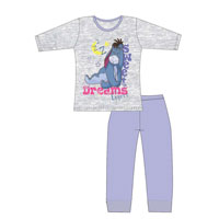 Girls Older Official Eeyore Sweet Dreams Pyjamas