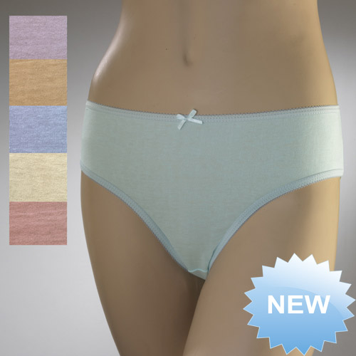Ladies Bikini Briefs Pastel