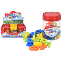 52 Piece Magnetic Letters And Numbers In Tub