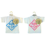 Baby In Car T-Shirt Car Sign