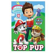 Paw Patrol Blankets Top Pup