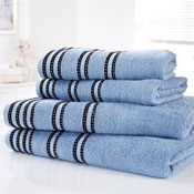 Sirocco Luxury Cotton Bath Sheets Denim