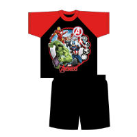 Boys Older Official Avengers Shortie Pyjamas