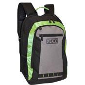 JCB Heavy Duty Padded Strap Backpack Green