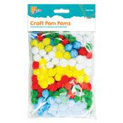 Assorted Craft Pom Poms