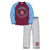 West Ham United Boys Pyjamas Long Leg