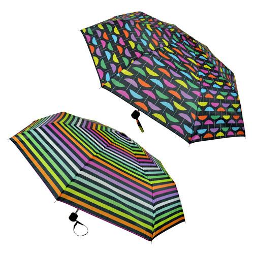 Rainbow Print Supermini Umbrella