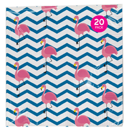 20 Pack Summer Napkins 3 Ply