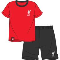 Official Mens Liverpool Shortie Pyjamas