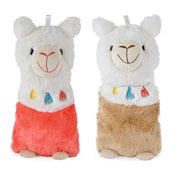 3D Plush Llama Hot Water Bottles