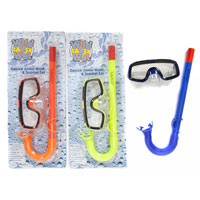 Deluxe Junior Snorkel Set