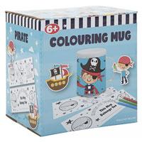 Colour Your Own Pirate Mug