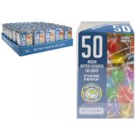 50 Multi-Coloured LED Lights